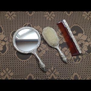 Antique Grooming Set